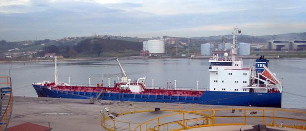 Instalaciones Portuarias en San Juan de Nieva (Avilés)