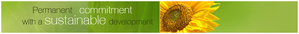 Permanent commitment with a sustainable development